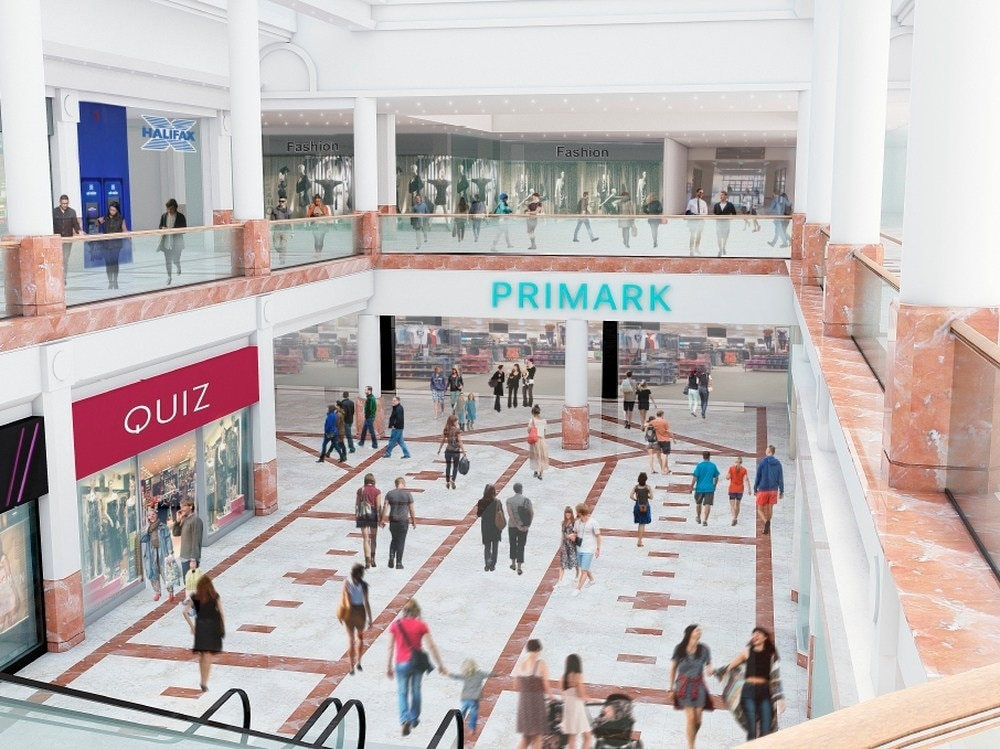 a56f718a27 A CGI showing the planned expansion of Primark into a new flagship store at  intu Merry Hill