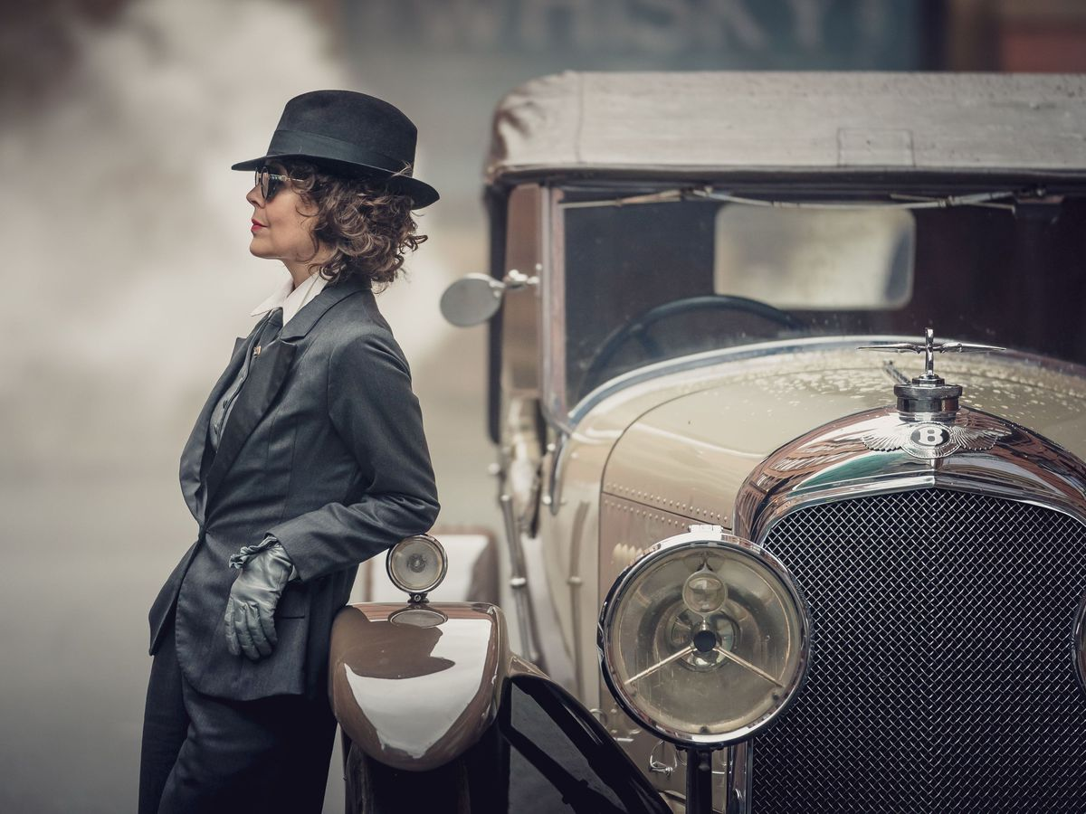 Helen McCrory in Peaky Blinders