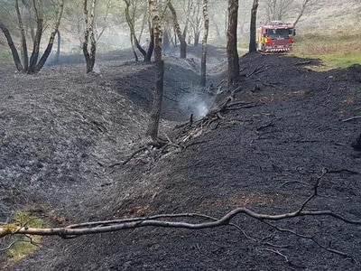 Cannock Chase hit by two woodland fires in 24 hours