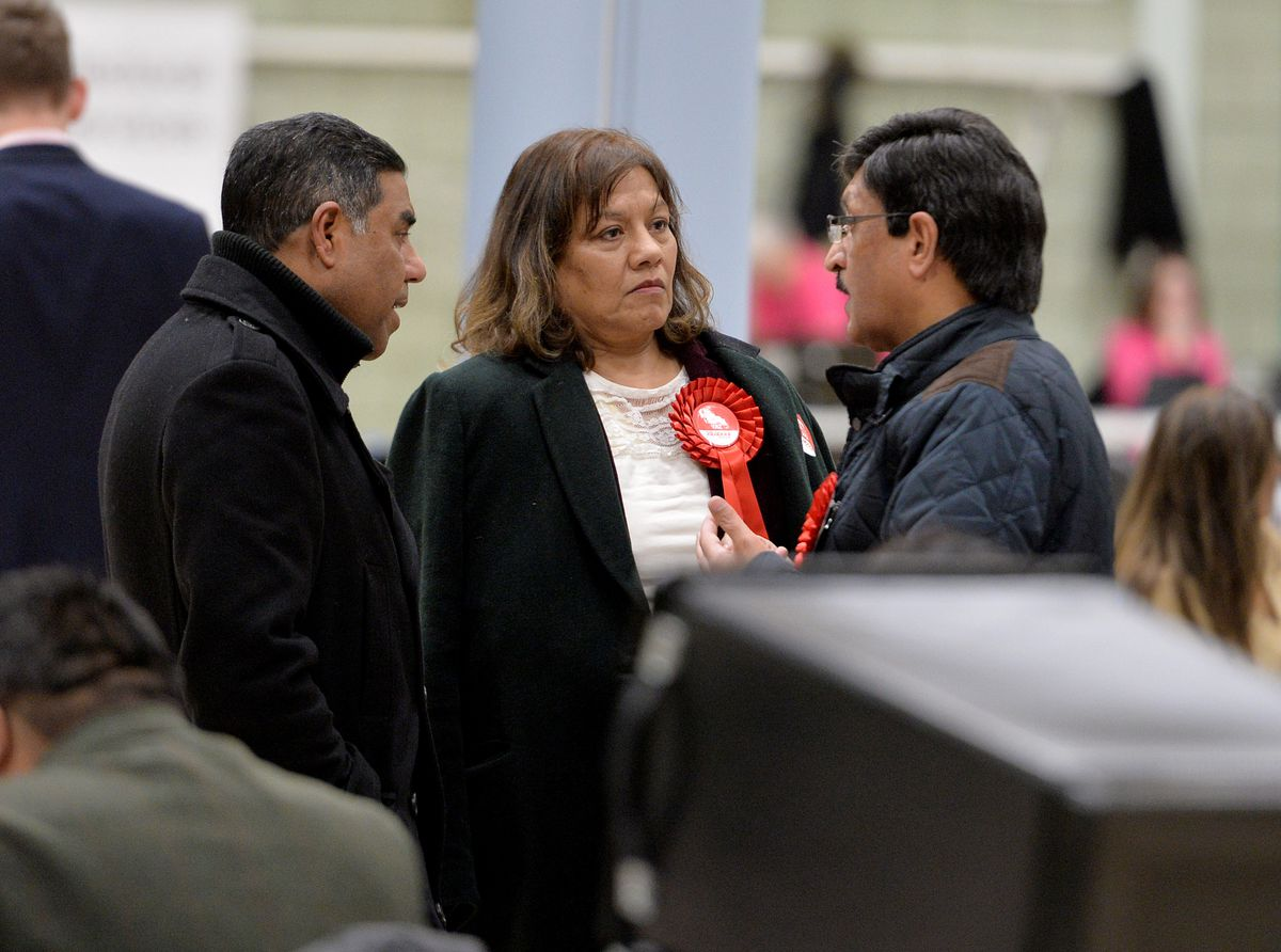 Valerie Vaz held onto the Walsall South seat with a reduced majority.