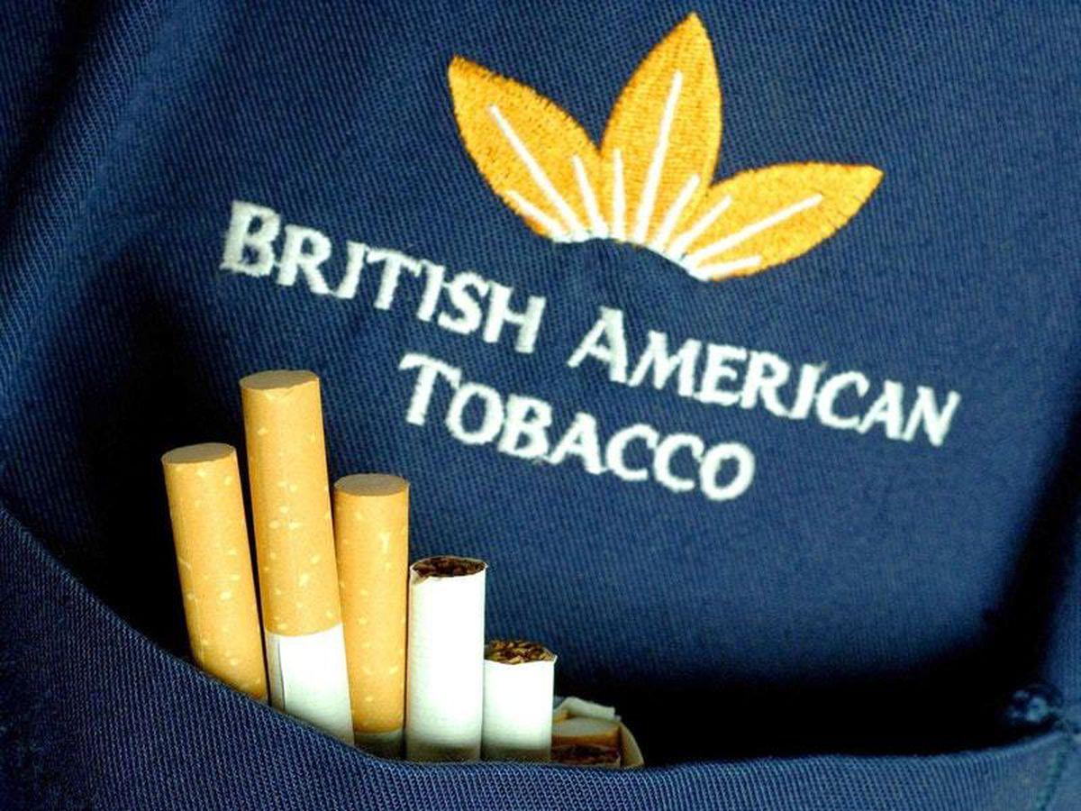 A British American Tobacco logo