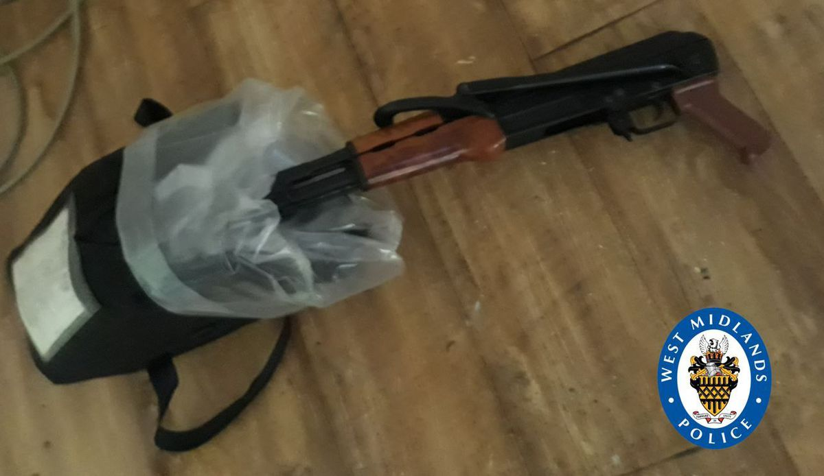 The AK-47 found in Birmingham