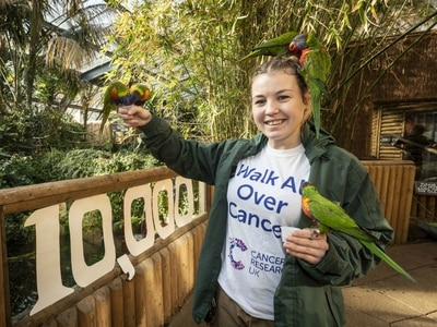 WATCH: Dudley Zoo keeper stepping out for cancer charity challenge