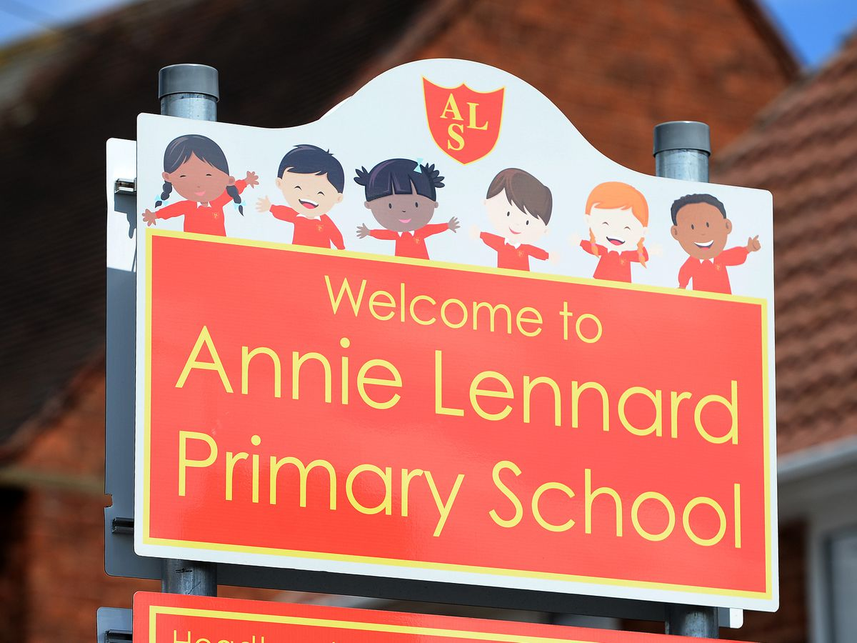 Annie Lennard Primary School in Smethwick is alleged to have been scammed out of thousands of pounds