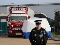 Lorry trailer containing bodies arrived in UK from Belgium