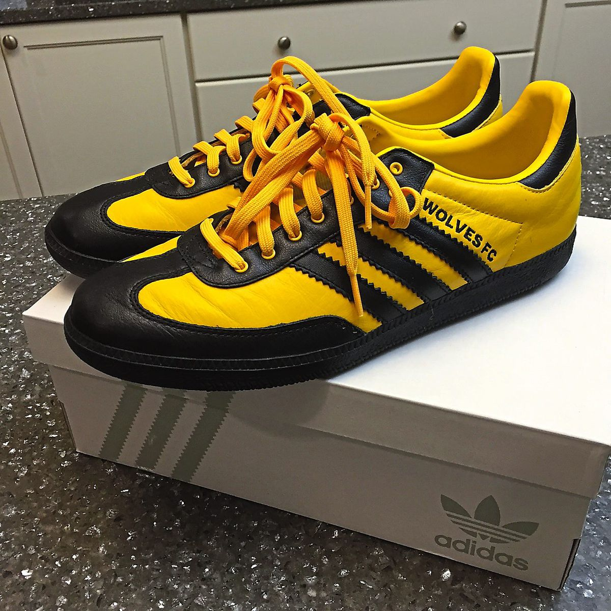 Customised Wolves trainers – fans can collect all sorts of memorabilia