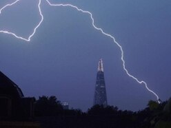 Lightning strikes leave 1,000 Midlands homes without power as thunderstorms roll in