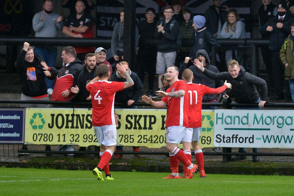 Paddy Lane scores a penalty