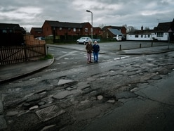 Is this the Midlands' worst pothole riddled road?