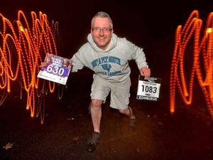 I lost a toe in a gardening accident, but now I'm running 20 races for charity
