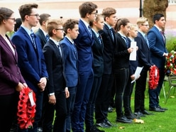 Black Country pupils welcome German students to Passchendaele anniversary commemoration - WATCH