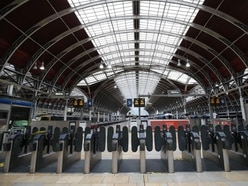 Reduced service now operating at Paddington station as some train lines reopen