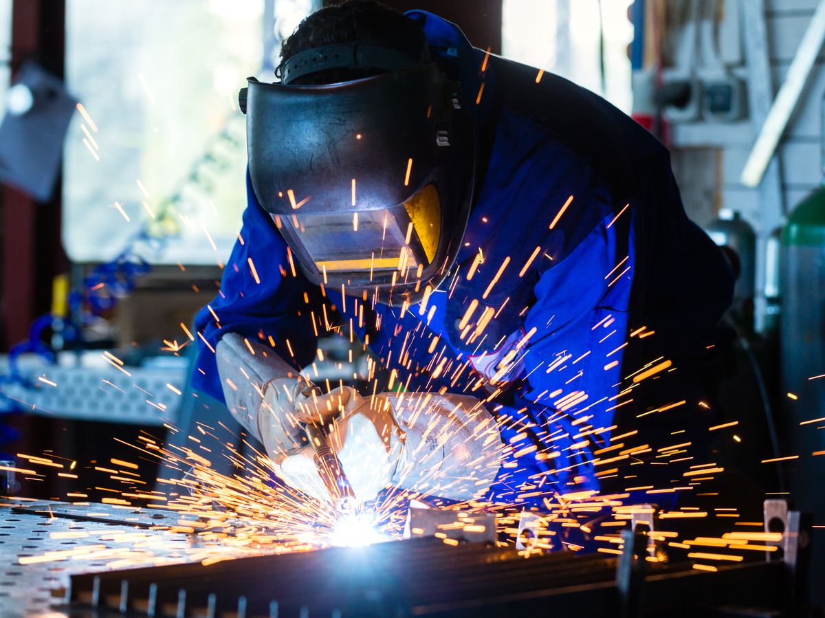 The number of manufacturing jobs has plummeted in the West Midlands in the past 20 years