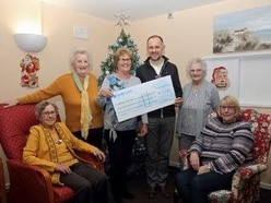 Festive boost for Stafford's Katherine House hospice