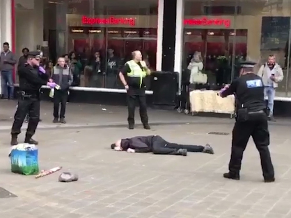 Knifeman tasered by police just hours after Parsons Green tube terror
