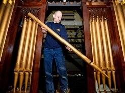 Shifnal church organ restorer's giant 12,000-piece puzzle