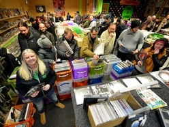 Music fans celebrate Record Store Day at Wolverhampton shop - with photos