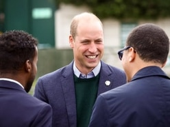 Prince William visiting West Brom as part of mental health campaign