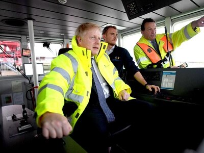 Boris Johnson appears to row back from Tory pledge to cut immigration