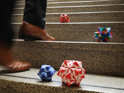 Can you help unfold the Wolverhampton origami mystery?