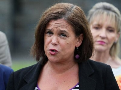 Sinn Fein will not be intimidated by attacks, Mary Lou McDonald says