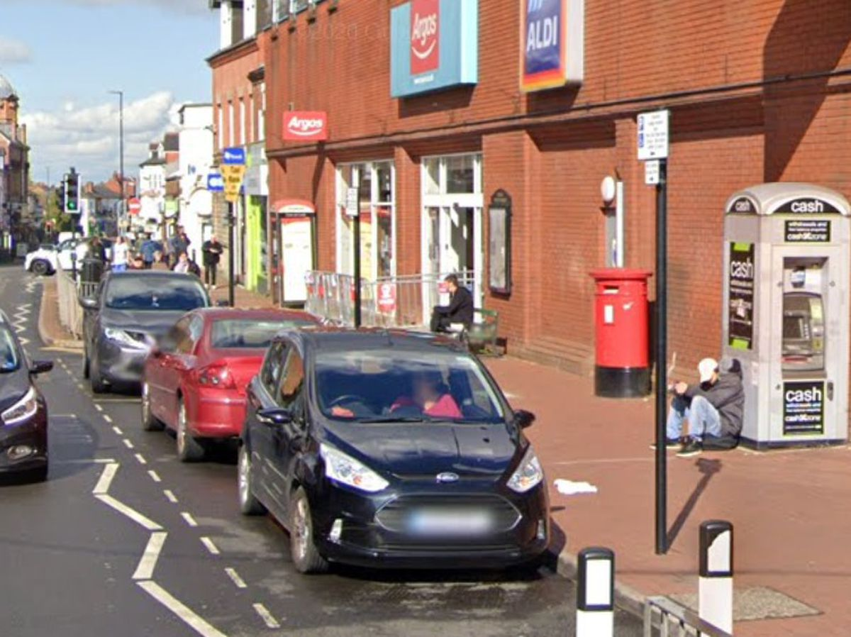 People are regularly seen begging in Bearwood. Photo: Google