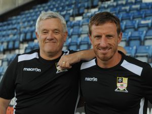 Andy Fearn (left) with Alex Meechan