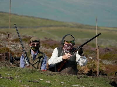 Locals welcome grouse-shooters to Yorkshire Dales on Glorious 12th