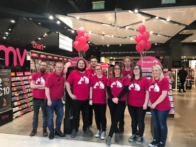 Delight as HMV reopens at Merry Hill shopping centre