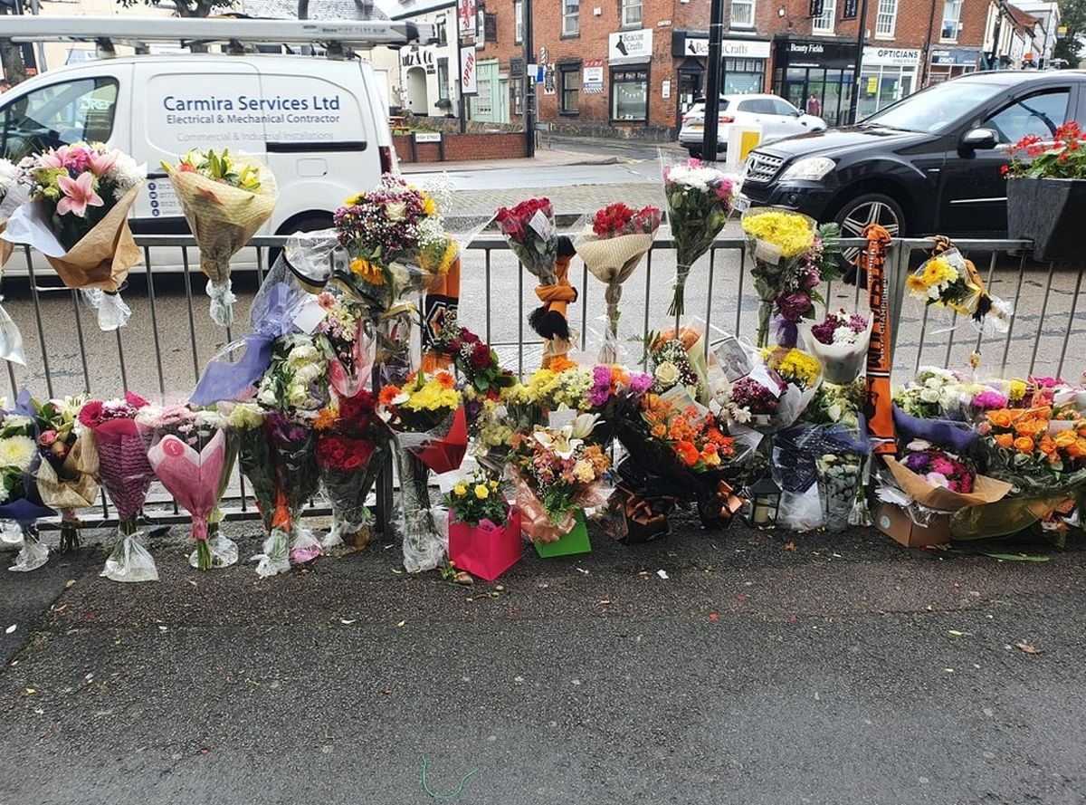 Floral tributes left to Reece