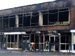 Homes plan for fire-ravaged former school