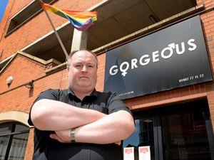 Nightclub boss Shaun Keasey, who runs Gorgeous in School Street, Wolverhampton.