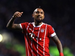 Arturo Vidal might just be the king of the rabona after this trick-shot training goal