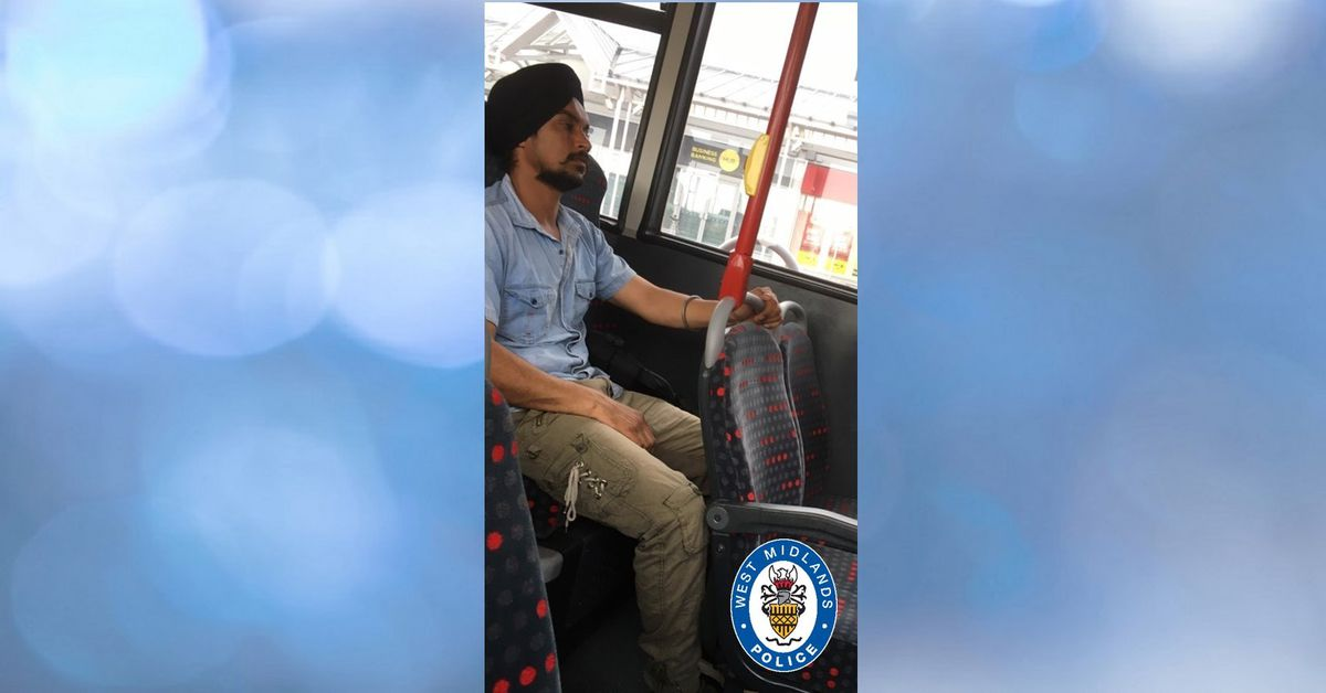 Police want to speak to this man about a sex assault on a bus