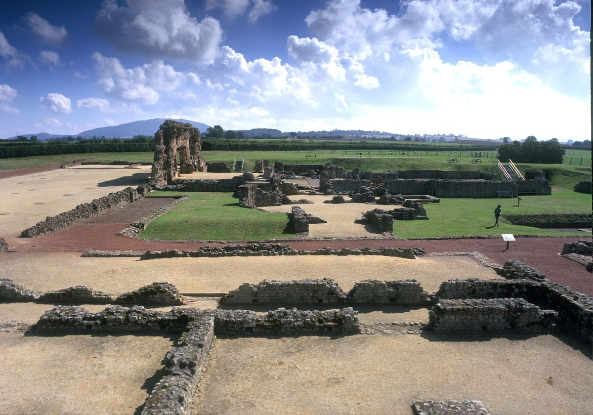 Wroxeter Roman City in Shropshire