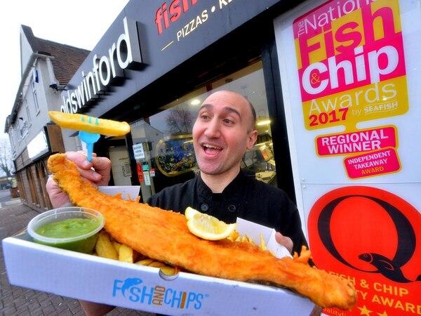Stourbridge chippy set to fry for glory in prestigious awards