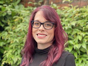 Poet Katy Wareham Morris from Pedmore, Stourbridge