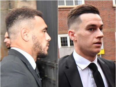 Professional footballers avoid jail but get two-year driving ban after crash