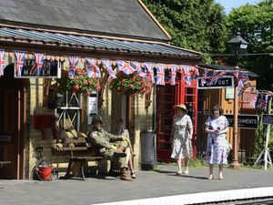A previous 1940s event held by the railway