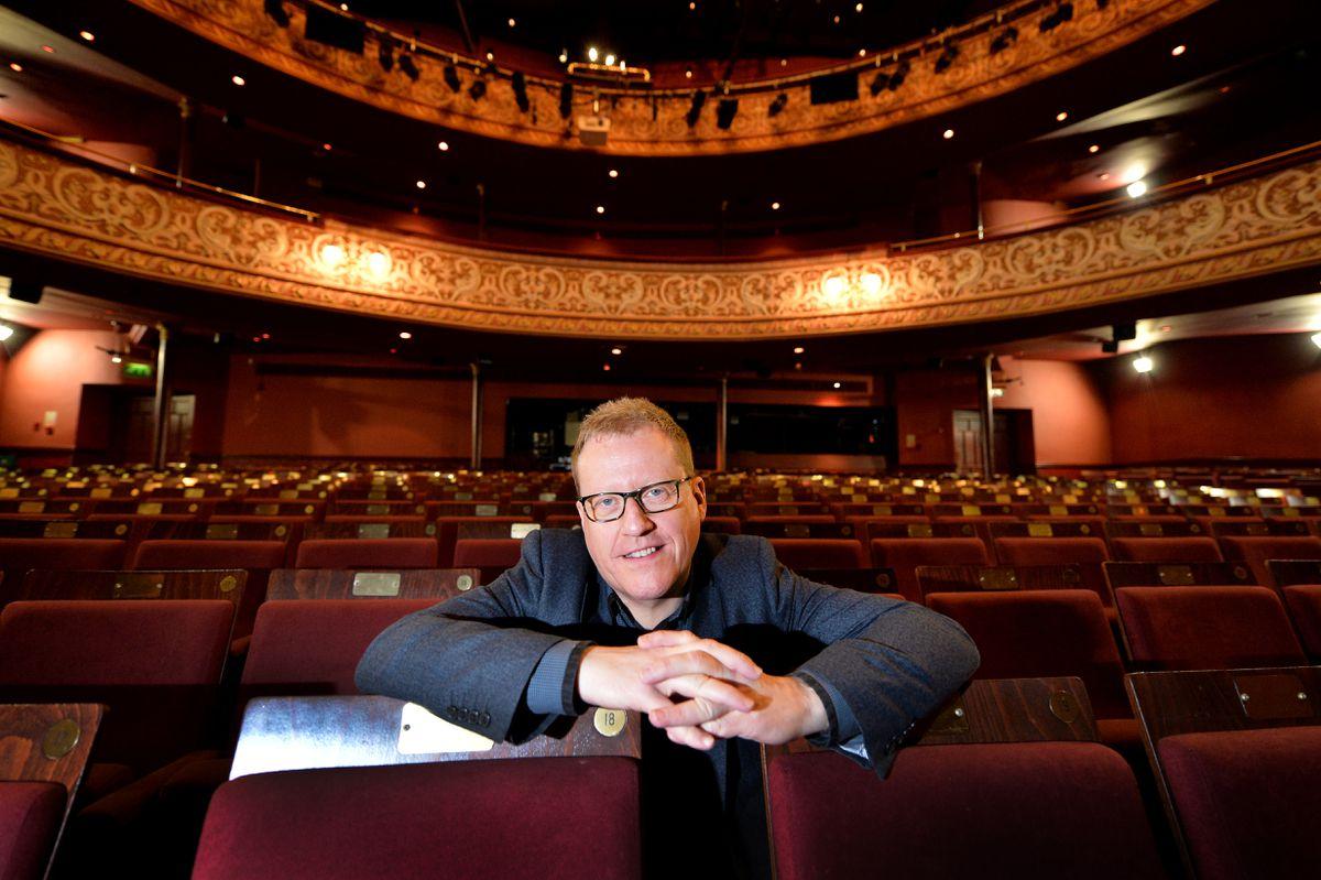 Adrian Jackson in the Grand Theatre