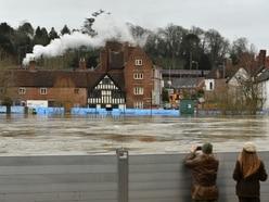 More rain forecast as River Severn peaks amid continued flood warnings
