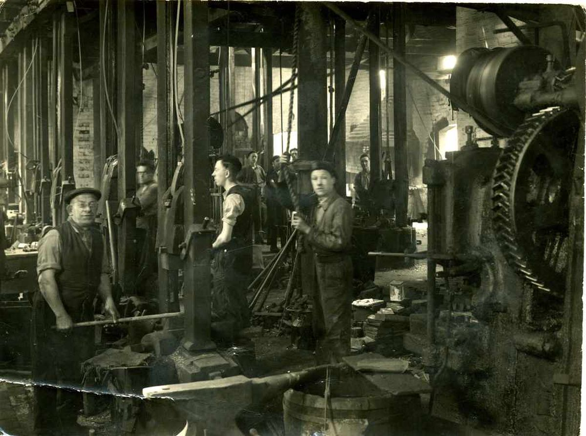 The tool manufacturer employed 300 to 400 people at its peak