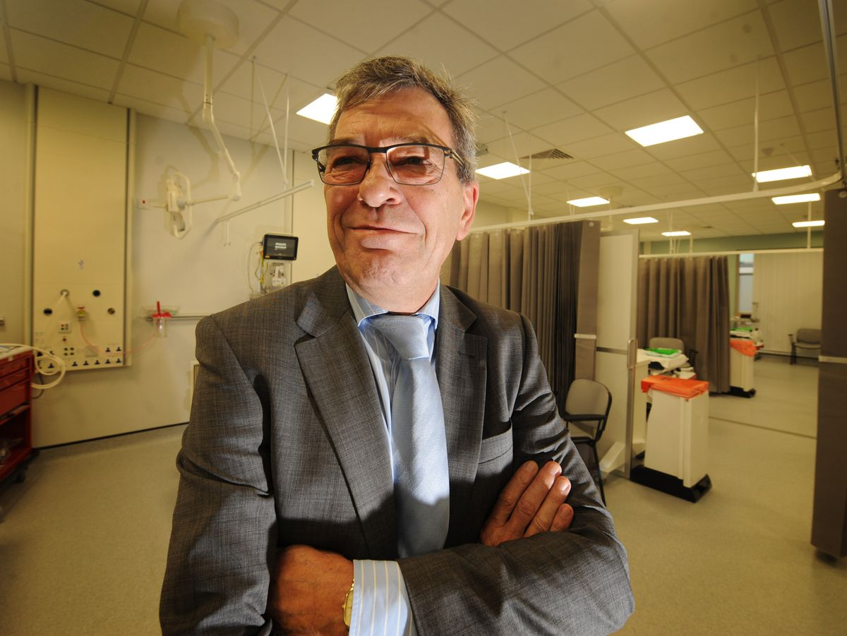 David Loughton CBE, Chief Executive of Royal Wolverhampton Hospitals NHS Trust