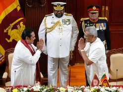 Sri Lankan president's brother sworn in as PM