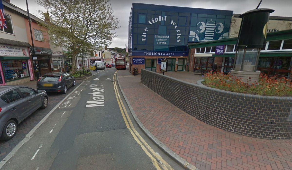 Market Street, Hednesford. Photo: Google.