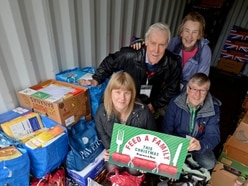 Feed a Family: Flying start to campaign with huge donation