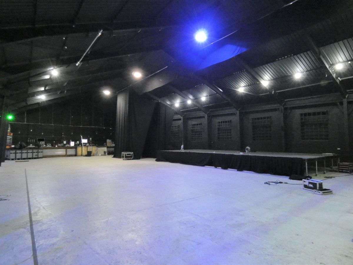 The new-look stage at K K's Steel Mill