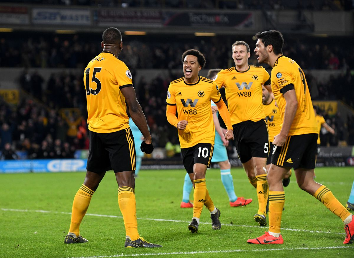 Willy Boly salvaged a late point for Wolves (© AMA / Sam Bagnall)