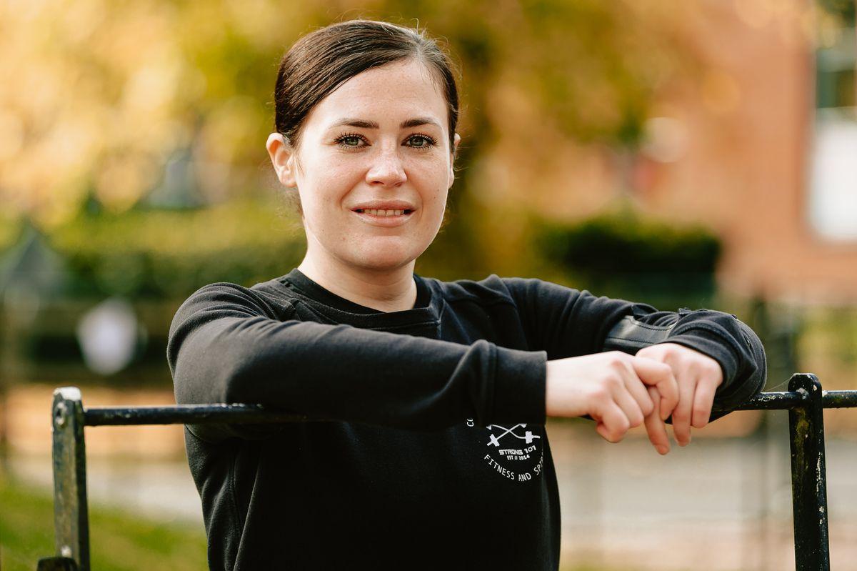 Acting corporal Megan Evans