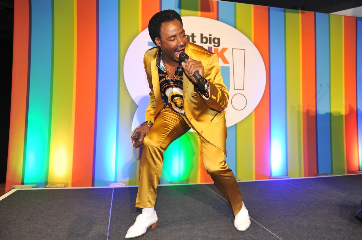 Donchez delighted the audience with his hit Wiggle and Wine – getting the audience up on their feet